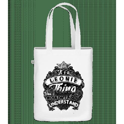 It's A Leonie Thing - Bio Tasche