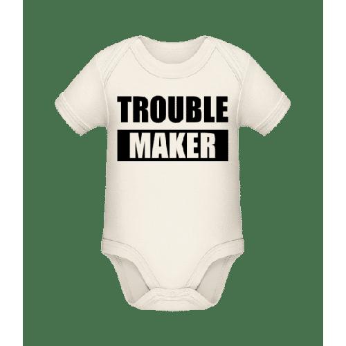 Troublemaker - Baby Bio Strampler