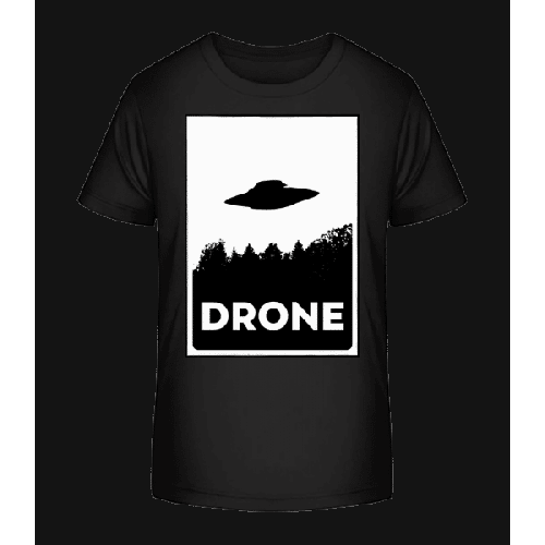 Drohne UFO - Kinder Premium Bio T-Shirt