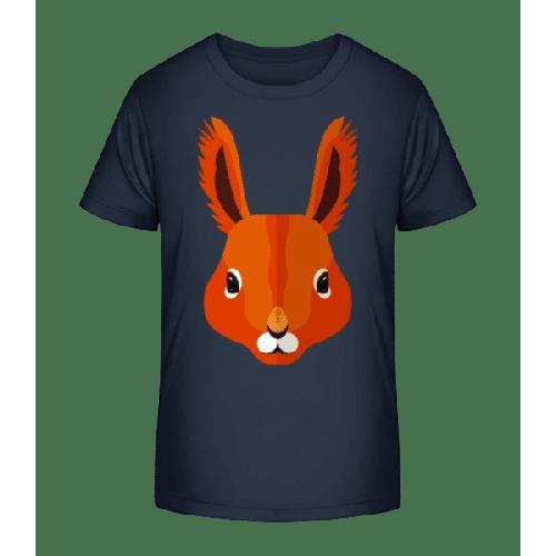 Eichhörnchen Comic - Kinder Premium Bio T-Shirt