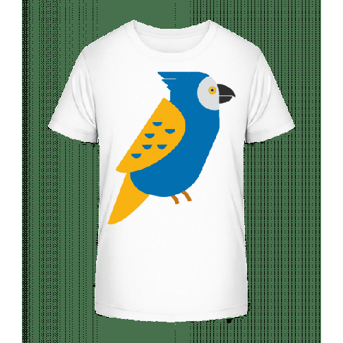 Papagei Bild - Kinder Premium Bio T-Shirt
