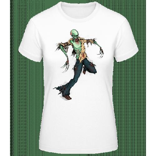 Gruseliger Zombie - Frauen Basic T-Shirt