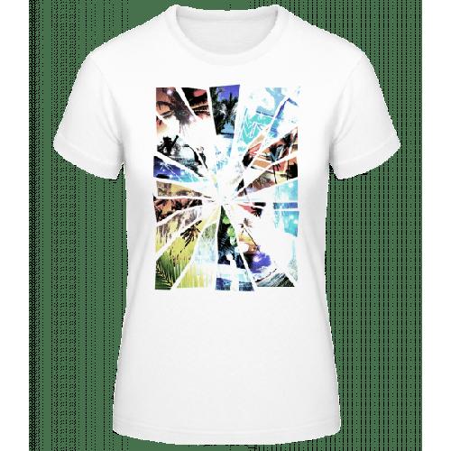 Urlaub Splitter - Frauen Basic T-Shirt