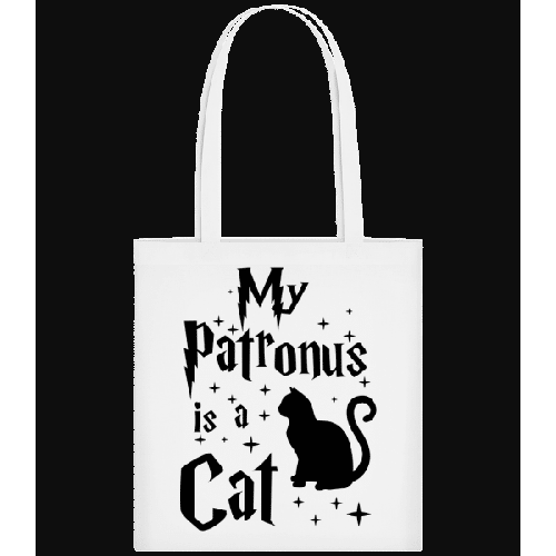 My Patronus Is A Cat - Stoffbeutel