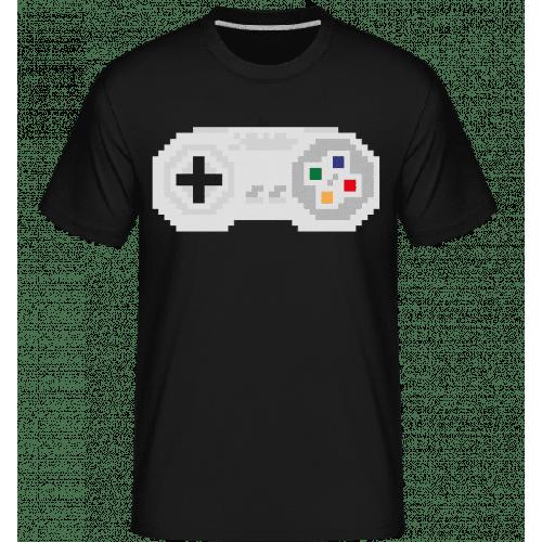 Konsolen Controller Oldschool Pi - Shirtinator Männer T-Shirt