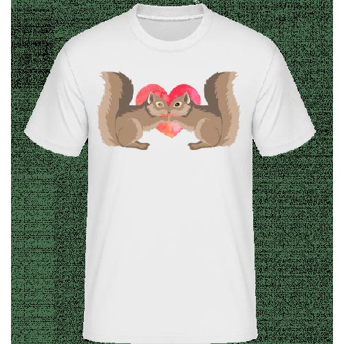 Eichhörnchen Liebe - Shirtinator Männer T-Shirt