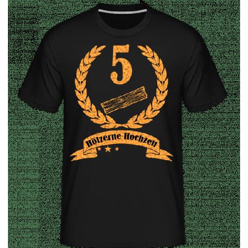 Hölzerne Hochzeit - Shirtinator Männer T-Shirt