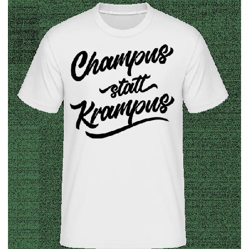 Champus Statt Krampus - Shirtinator Männer T-Shirt