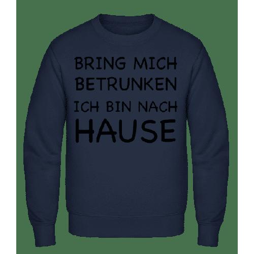 Bring Mich Betrunken - Männer Pullover