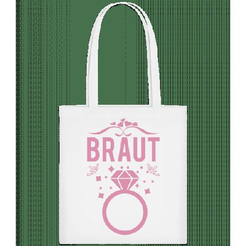 Braut Hochzeitsring - Stoffbeutel