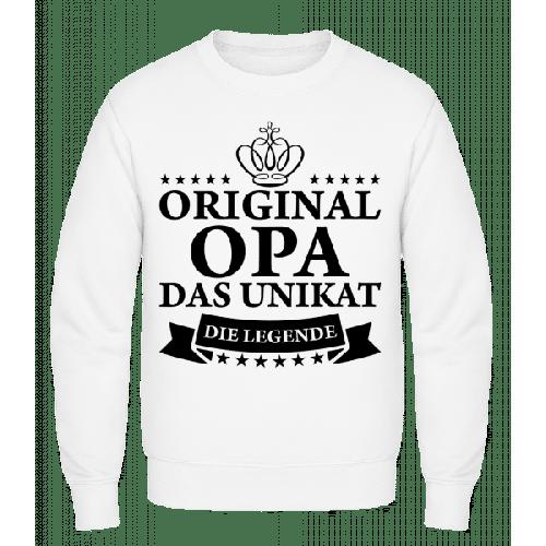 Opa Das Unikat Die Legende - Männer Pullover