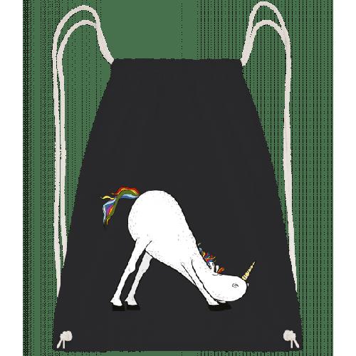 Yoga Einhorn Herabschauende Hund - Turnbeutel