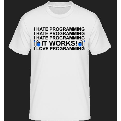 I Love Programming - Shirtinator Männer T-Shirt
