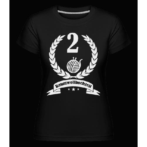 Baumwollhochzeit - Shirtinator Frauen T-Shirt