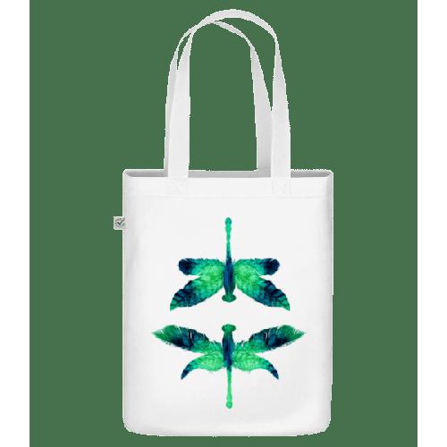 Blatt Libelle - Bio Tasche