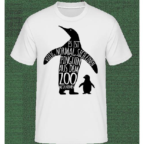 Pinguin Zum Mitnehmen - Shirtinator Männer T-Shirt