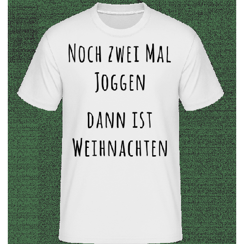 Noch Zwei Mal Joggen - Shirtinator Männer T-Shirt