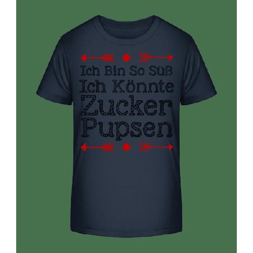 Zucker Pupsen - Kinder Premium Bio T-Shirt