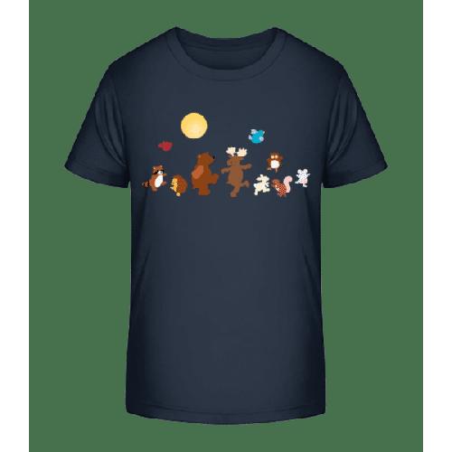 Baby Tiere Party - Kinder Premium Bio T-Shirt