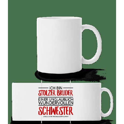 Stolzer Bruder Einer Schwester - Panoramatasse