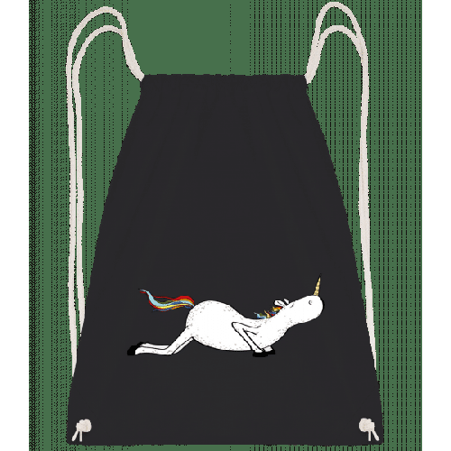 Yoga Einhorn Der Fisch - Turnbeutel