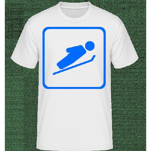 Skispringen Zeichen - Shirtinator Männer T-Shirt