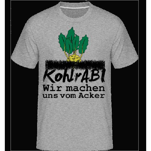 KohlrABI Macht Sich Vom Acker - Shirtinator Männer T-Shirt