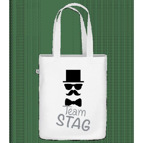 Team Stag - Schnurrbart - Bio Tasche