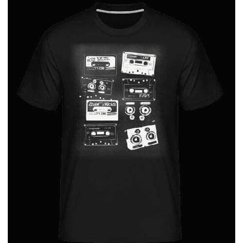 Old Cassettes - Shirtinator Männer T-Shirt