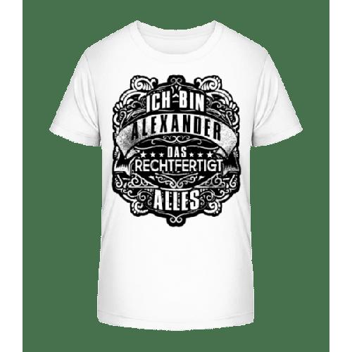 Ich Bin Alexander - Kinder Premium Bio T-Shirt