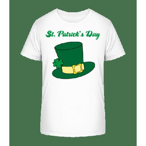 St. Patrick's Day Hat - Kinder Premium Bio T-Shirt