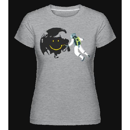 Lächelnder Mond - Shirtinator Frauen T-Shirt