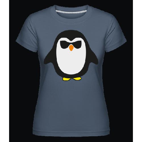 Cooler Pinguin Schwarze Brille - Shirtinator Frauen T-Shirt