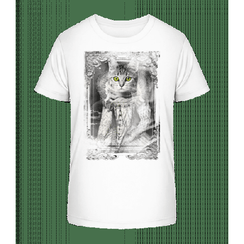 Katzen Gemälde - Kinder Premium Bio T-Shirt