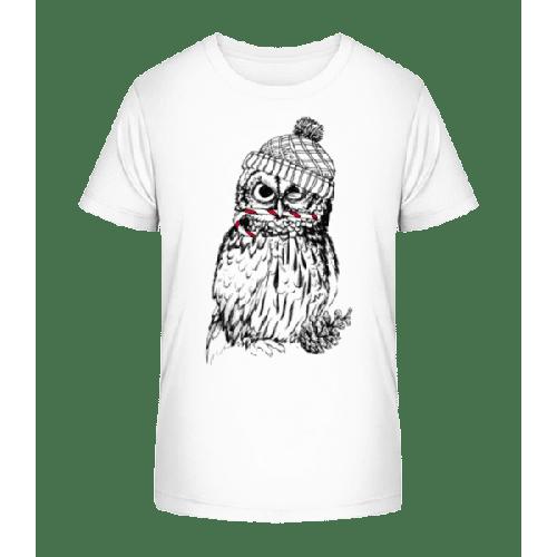 Weihnachtseule - Kinder Premium Bio T-Shirt