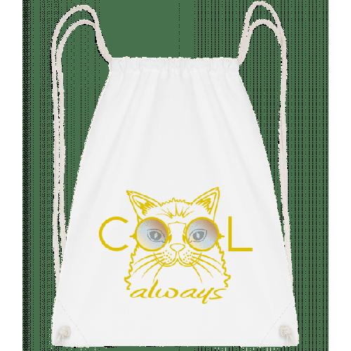 Cool Katze - Turnbeutel