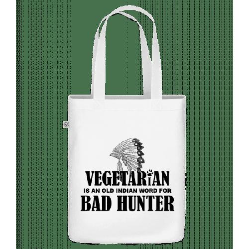Vegetarian Bad Hunter - Bio Tasche