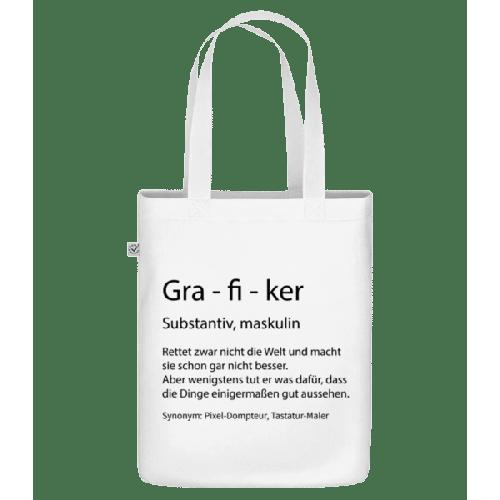Grafiker Quatsch Duden - Bio Tasche
