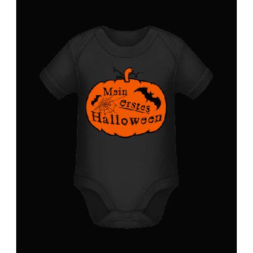 Mein Erstes Halloween - Baby Bio Strampler