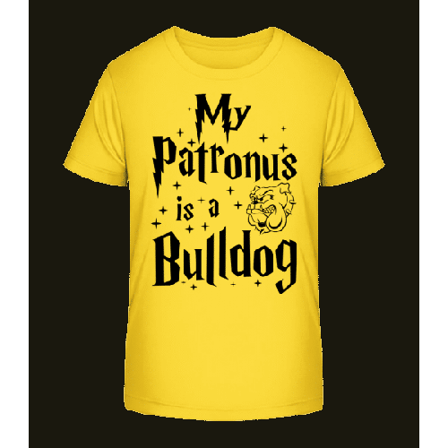 My Patronus Is A Bulldog - Kinder Premium Bio T-Shirt