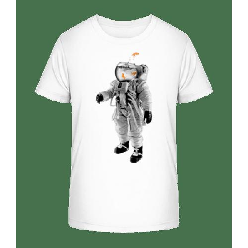 Goldfisch Astronaut - Kinder Premium Bio T-Shirt