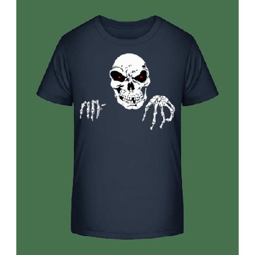 Gruseliger Tod - Kinder Premium Bio T-Shirt