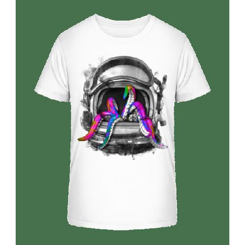 Tintenfisch Helm - Kinder Premium Bio T-Shirt