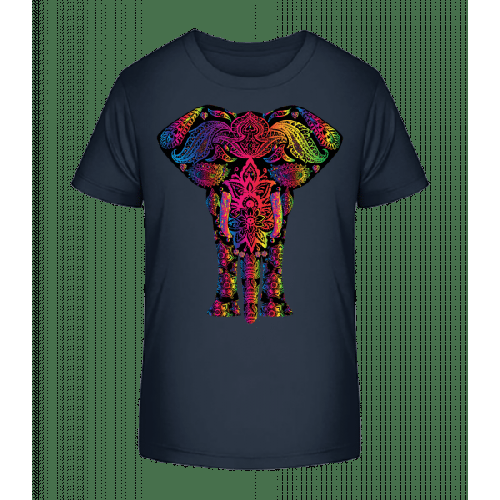 Bunter Elefant - Kinder Premium Bio T-Shirt