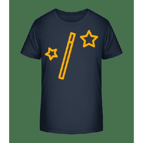 Zauberstab Sterne Und Sterne - Kinder Premium Bio T-Shirt