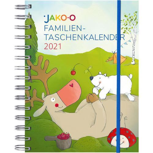 JAKO-O Taschenkalender A6 2021, bunt