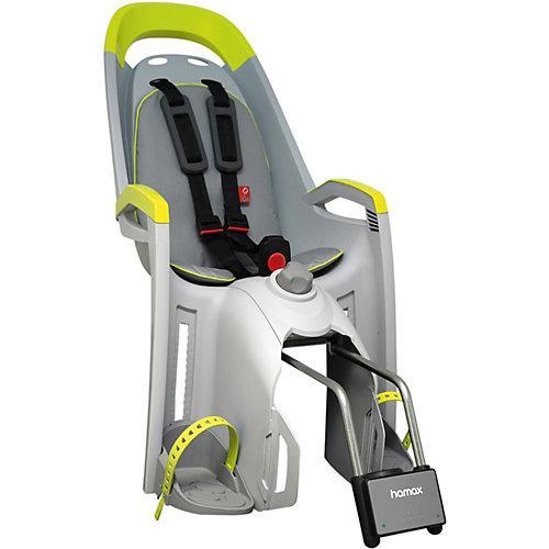 Fahrradsitz AMAZE mit abschließbarer Halterung lime