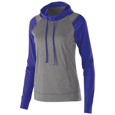 Holloway 222739 Women's Dry-Excel Echo Performance Polyester Knit Training Hoodie size XL