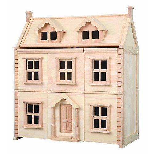 Puppenhaus Viktorianisches Puppenhaus Puppenhäuser holzfarben