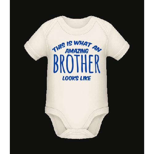 Amazing Brother Looks Like - Baby Bio Strampler